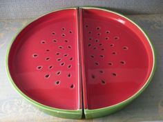 Watermelon Serving Tray by autumnalways on Etsy