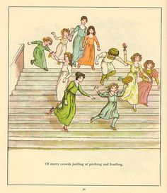 28 - The Pied Piper of Hamelin illustraed by Kate Greenaway