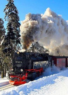 Alaska Railroad at Winter. | See More Pictures
