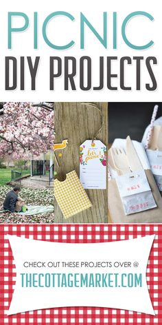 Picnic DIY Projects - The Cottage Market