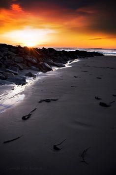 Wallis Sands Beach Sunrise; Rye, NH  Photo: Mike Buchholz