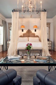 south shore decorating blog 50 favorites for friday 152 - Canopied Beds
