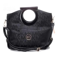 MICHAEL Michael Kors Large Jet Set Black Satchel Black