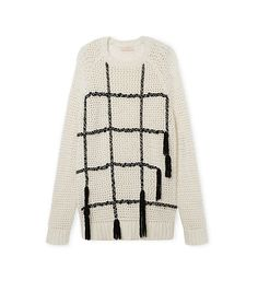 EMBROIDERED KNIT PULLOVER