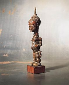 Protective female fertility figure (lupinga lua luimpe)Luluwa people, Democratic Republic of the Congo Period:Late 19th century - early 20th