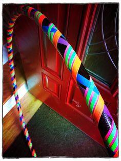 <3 My hoop!! Got it from Hippie Chic Hoops!