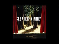 The Woods is the seventh and final studio album by the indie rock trio Sleater-Kinney. Released in the album was released to widespread critical acclai. Wood Vinyl, Lp Vinyl, Vinyl Records, Vinyl Cover, Stone Roses, Best Albums, Roller Coaster, Album Covers, Night Light