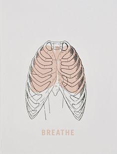 'Breathe' poster, 2009, designed by VERONICA CORZO-DUCHARDT.