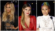 """New Trending Celebrity Looks: Tyra Banks, Heidi Klum and Mel B Go to the Mat at the """"America's Got Talent"""" Live Finale.  Time once again to judge the tackiest trio of judges in reality television, darlings! For weeks now, these ladies have been silently going to war – a war for your attention. Heidi, the one with the appearance of fashion bona fides (""""THE APPEARANCE OF""""), has wisely – and..."""