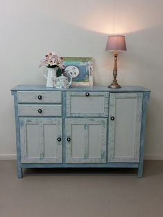 #authentic #vintage #farmhouse meat safe pantry. Painted and restored by Shabby Duck Studio Busselton Western Australia