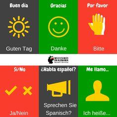 Si vas a #ViajarEnAlemania y no sabes #Aleman, conocer algunas frases básicas te ayudarán a sentirte más cómod@ en este país y disfrutar más tu viaje #AprenderAleman #Ichliebedeutsch