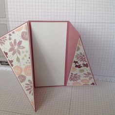 Hi as requested here's a short photo tutorial on how to make the twisted gate fold card that I showcased on Friday the 5th of August. I hope...