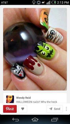 Great idea for Halloween