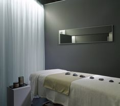 spa room-COLOR OF WALL WITH WHITE CROWN MOLDING WILL POP AND LOOK RICH