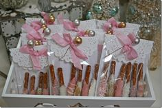 Pretzel Rods Candy Dipped