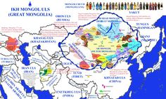 World Mongols The Mongols are a worldwide ethnic group, descendants of the ancient Huns. Although the largest Mongolian group consists of the inhabitants of Mongolia, they also live as minorities across Northern Asia, including in Russia, China, Central Asia and many of the former Soviet Union states. Mongolian people belonging to the Buryat subgroup live predominantly in what is now the autonomous Republic of Buryatia, Republic of Kalmykia, and Republic of Tuva in Russia. In China, they…