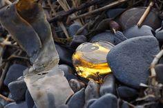 Beach Glass Art, Yellow Sea Glass Art, Rare Sea Glass Digital Download, Instant Download Printable Art, Canadian Art, Mermaid Tears, Sea Art