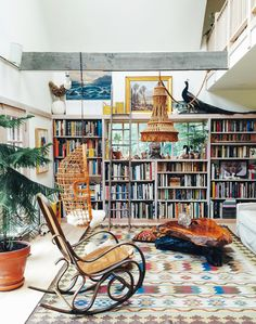 Interiors: Libraries & Bookcases on Pinterest  Home Libraries ...