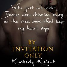 From USA Today bestselling author Kimberly Knight, comes a sexy, forbidden lovers standalone novel. Knight News, Black Tie Party, Usa Today, Romance Books, Bestselling Author, Novels, Invitations, Sexy, Romance Novels