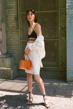 Summer Outfit Ideas That Mix Swimwear With Ready-to-Wear, From Chanel to Stella McCartney | Vogue Marie Claire, Vogue Paris, Paris Fashion, Fashion Show, Fashion Styles, Fashion Trends, Vogue India, International Fashion, Mannequins