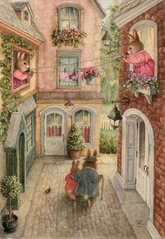 Illustration/Painting by Susan Wheeler