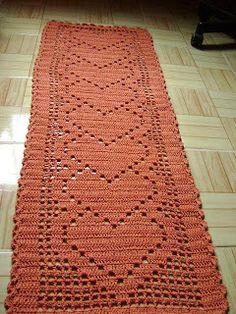 Home Decor Crochet Patterns 161 - Beautiful Crochet Patterns and Knitting Patterns Thread Crochet, Crochet Doilies, Crochet Stitches, Knit Crochet, Crochet Carpet, Crochet Home, Crochet Crafts, Doily Patterns, Crochet Patterns