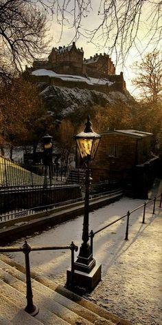 Scottish winter, Edinburgh (by M J Turner Photography)
