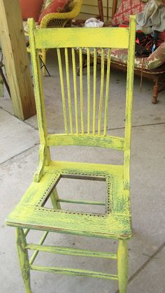 Gonna put some fun fabric on this old chair!! - Amy Otteson - Picasa Web Albums
