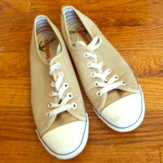 Converse Flats Thin soled tennis shoes Converse Shoes
