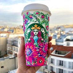 Copo Starbucks, Starbucks Cup Art, Iphone 7 Plus, Silhouette Art, Arizona Tea, Happy Girls, Drinking Tea, Morning Coffee, Flower Art