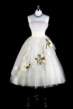 50's tulle dress