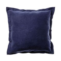 With a reversible flange detail on all four sides, the Aberdeen cushion from Home Republic adds sophistication and elegance to any bedroom setting. Soft textured and solid in design, this cushion brings luxury and opulence to every home. Home Republic, Lounge Design, Winter Warmers, Aberdeen, Indigo, Cushions, Throw Pillows, Luxury, Bedroom Inspiration