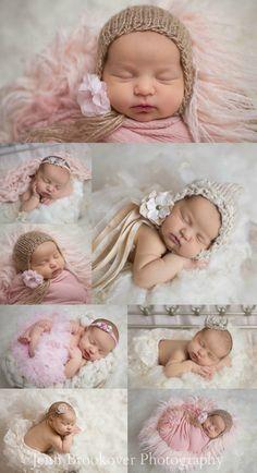 newborn portraits, newborn photography, pink and gold, Devoted Knits headbands, Nursery Couture, girl, wrapped, tutu, headband
