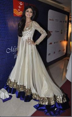 Anarkali.... Would have loved this style for my wedding