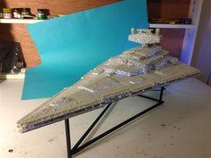 Star Wars Star Destroyer Model - built from scratch