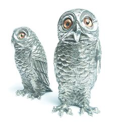 Owl salt and pepper shakers from Hudson