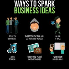 If you wish to turn into an entrepreneur, and are searching for methods to provide you with concepts. – Then these are 6 issues you are able to do every day to turn into extra inventive and p… Web Business, Business Goals, Business Tips, Online Business, Business Marketing, Business Quotes, Entrepreneur Motivation, Business Motivation, Positive Motivation