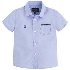 Camisa popelin manga corta Lavanda - Mayoral