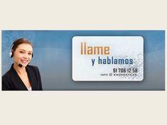 """Eikondata: Contacta con nosotros """"Llame y hablemos""""."""