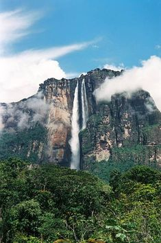 Angel Falls - Salty Sam's Fun Blog for Children - Post 308 Waterfalls * LOADS OF COOL STUFF FOR KIDS * KIDS CRAFT TUTORIALS * FREE DOWNLOADS – www.christina-sinclair.com Beautiful Places In The World, Places Around The World, Oh The Places You'll Go, Places To Travel, Places To Visit, Around The Worlds, Dream Vacations, Vacation Spots, Angel Falls Venezuela