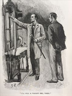 The Crooked Man, Sidney Paget, The Strand Magazine, July 1893