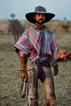 Artist: Steve McCurry, Paraguay Gaucho, 1988, fuji crystal photograph, 24 X 20 inches