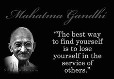 Discover and share Gandhi Inspirational Life Quotes. Explore our collection of motivational and famous quotes by authors you know and love. Inspiring Quotes About Life, Inspirational Quotes, Mahatma Gandhi Quotes, Life Quotes Pictures, Service Quotes, New Beginning Quotes, Motivational Quotes For Students, Kindness Quotes, Empowering Quotes