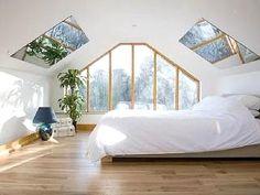 Master mirrored bedroom