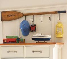 oar towel hanger - Google Search