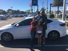 """Mr. Rios came into Lakeland Automall in the hopes of finding a new vehicle. With the help of salesman Ellis Walker, Mr. Riosleft with a 2017 Hyundai Elantra! """"Exceptional service!"""" We really appreciate your business here with us! We hope that you are enjoying your new Hyundai Elantra and please; if there is anything that we can do, don't hesitate to ask… We are here to help! #LakelandAutomall #LakelandHyundai #Hyundai #HyundaiElantra"""
