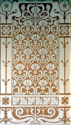 Barcelona - Gran Via 576 a Motif Art Deco, Art Deco Pattern, Art Deco Design, Art Nouveau, Textures Patterns, Color Patterns, Sgraffito, Graphic Patterns, Damask