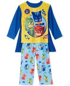 e0ab6a0862 PJ Masks Toddler Boys Pajamas with Cape