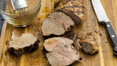 Say 'goodbye' to bland pork with this mix of sweet, spicy and tangy flavors from French's® Honey Mustard and Grill Mates® Brown Sugar Bourbon Marinade. Marinate pork tenderloin and hit the grill for a bold weeknight meal packed with flavor. Barbecue Recipes, Grilling Recipes, Cooking Recipes, Chocolate Ganache Icing, Mccormick Recipes, Pumpkin Vegetable, Spice Set, Marinated Pork Tenderloins, Grilled Peaches