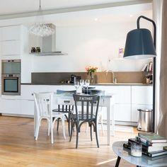 black-white, decoration, cuisine, renovation, amenagement ...
